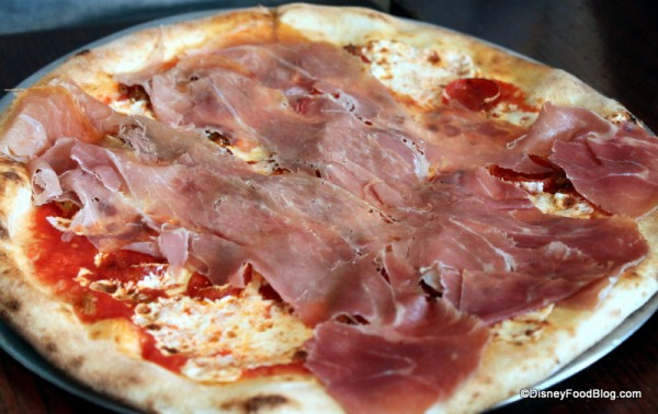 Build Your Own Pizza with Prosciutto