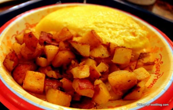 Seasoned breakfast potatoes