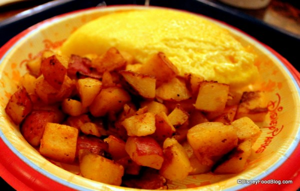 Seasoned breakfast potatoes