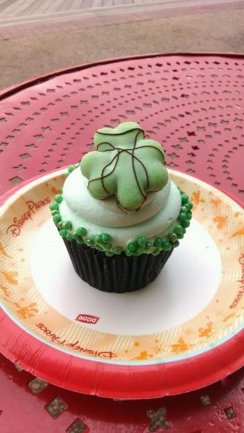 St. Patrick's Day Cupcake