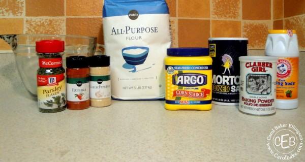 Shrimp Tempura Ingredients