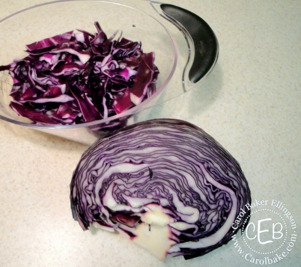 Prep cabbage