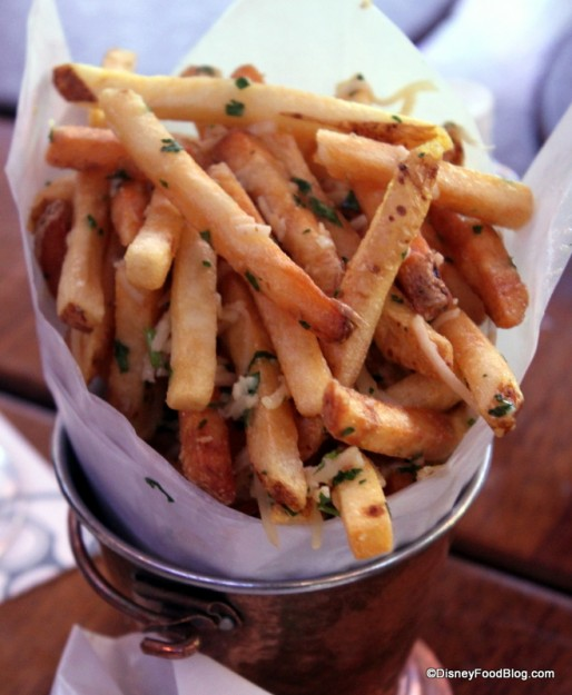 Skinny Chips with Truffle and Parmesan Raglan Road