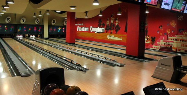 Downstairs Bowling Lanes