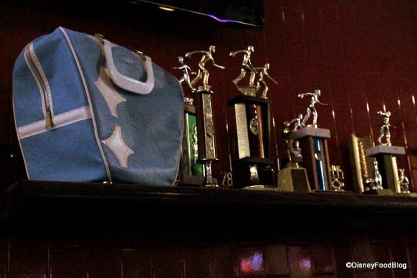 Bowling Trophy Display