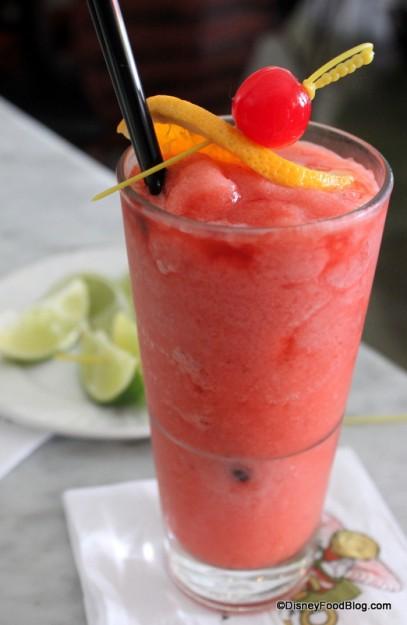 Non-Alcoholic Strawberry Daiquiri