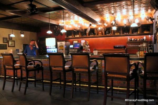 Bar at Yak & Yeti