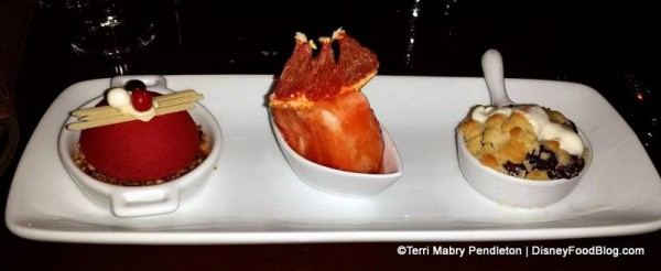 Brown Derby Dessert Trio