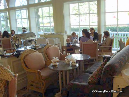 Disney World Afternoon Tea At Grand Floridian S Garden