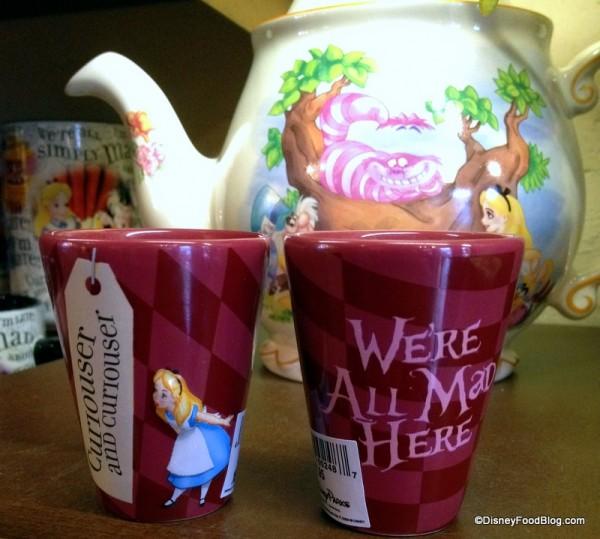 Tea . . . Shot Glasses?