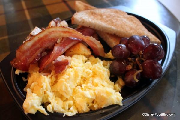 American Breakfast -- Up Close