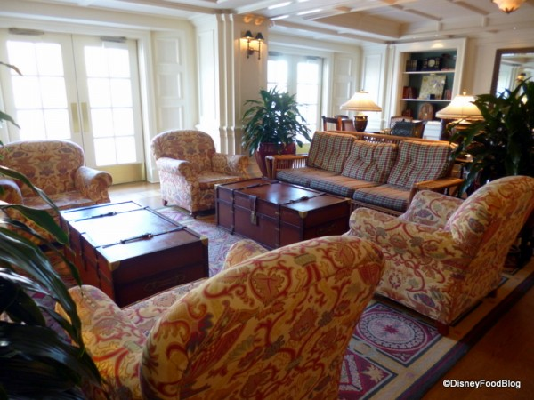 The Belle Vue Lounge in Disney's BoardWalk Inn