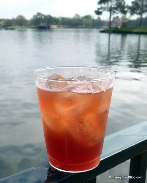Berry Tea Cocktail