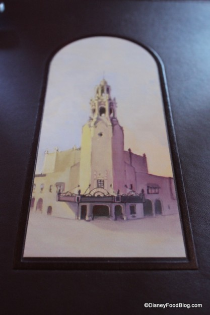 Carthay Circle Restaurant Menu