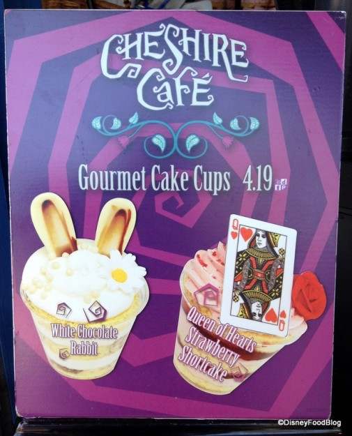 Cake Cups Sign
