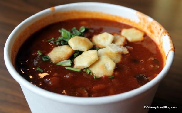 Vegetarian Chili Close-up