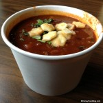 Review: Vegetarian Chili and Blueberry Cobbler at Columbia Harbour House