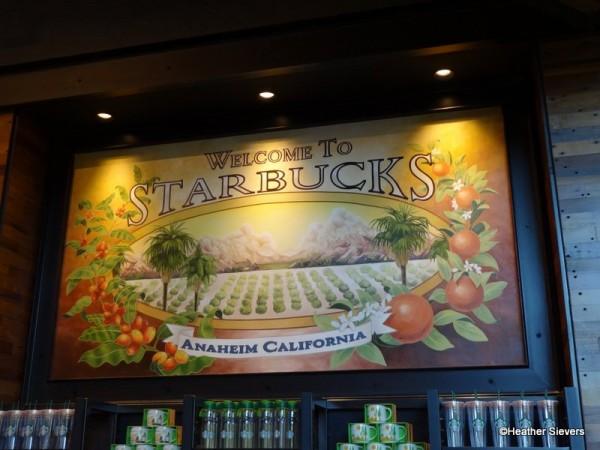 Welcome to Starbucks Anaheim