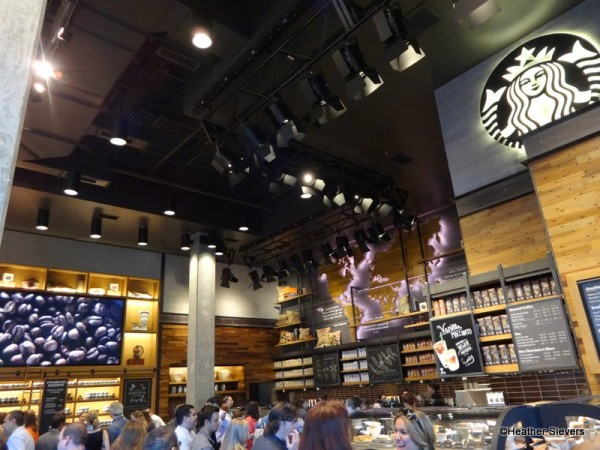 Customers Gladly Welcoming Starbucks to Downtown Disney Anaheim