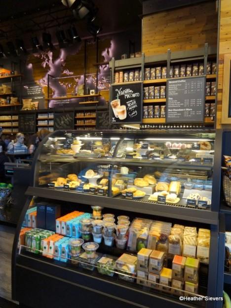 Starbucks Refrigerator Case
