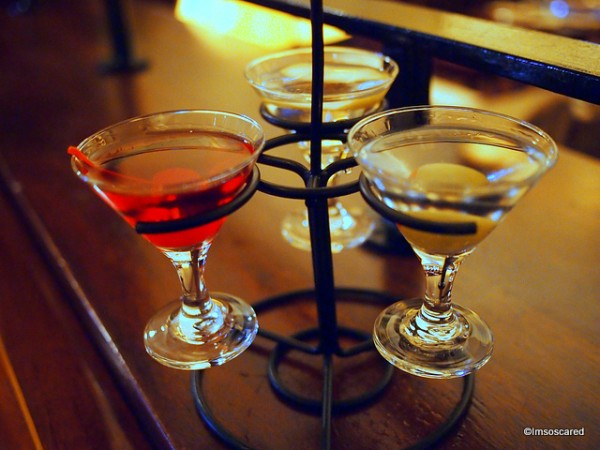 Martini Flight at Hollywood Brown Derby