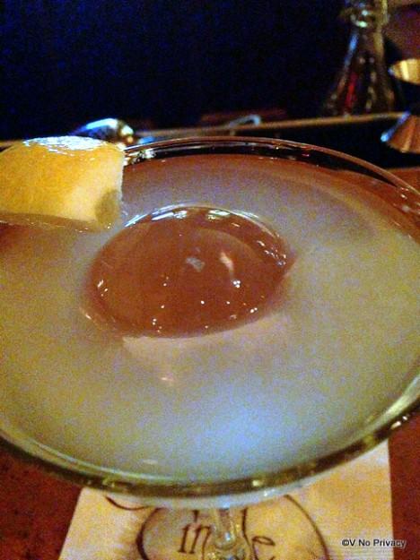 Lemon Martini at Carthay Circle Lounge