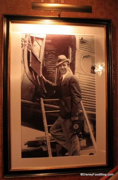 Walt Disney in a Vintage Photo, Looking Very Dashing