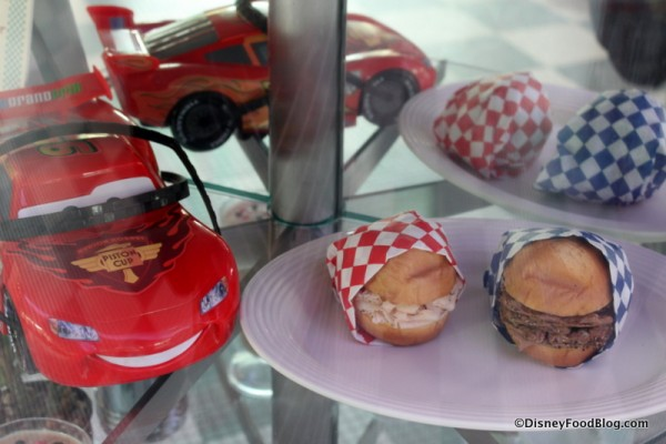 Examples of Food and Lightning McQueen