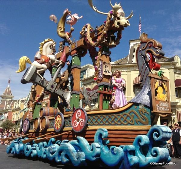 Festival of Fantasy Tangled Float