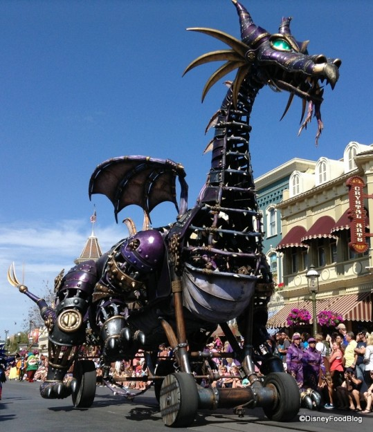 Festival of Fantasy Maleficent Float