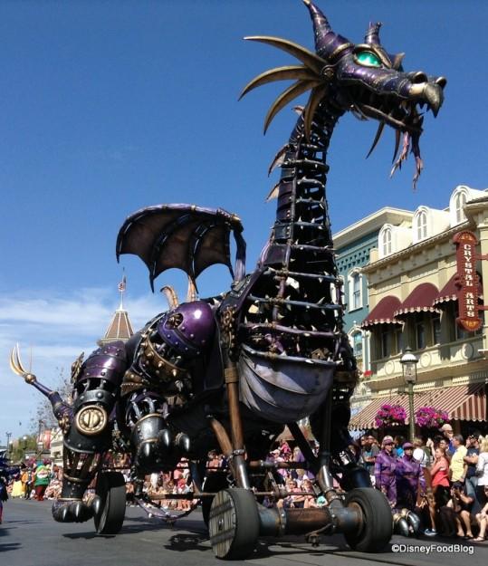 Festival of Fantasy Maleficent Float