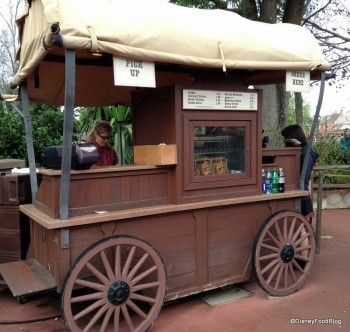 Frontierland Churro Cart