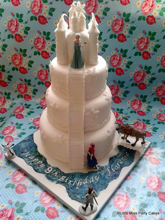 Frozen Birthday Cakes the disney food blog