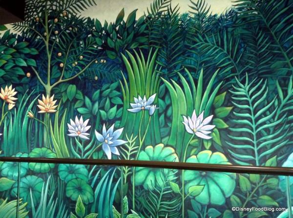 Garden Grill Mural