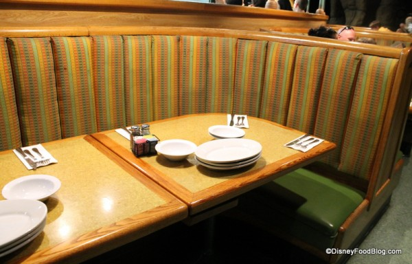 Larger Booth -- Family Side