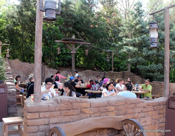 Golden Oak Outpost seating