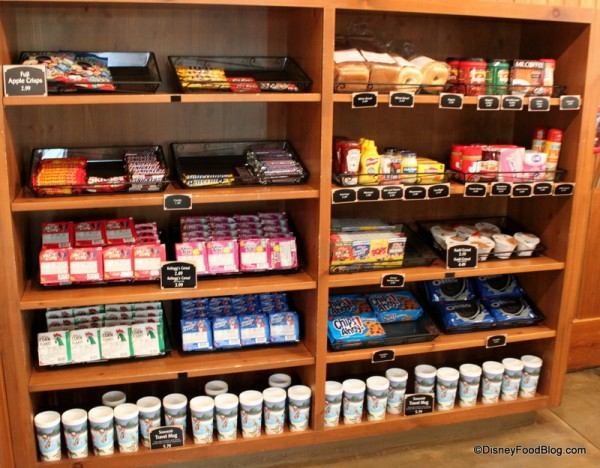 Dry Foods, Grocery Items, and Souvenir Mugs