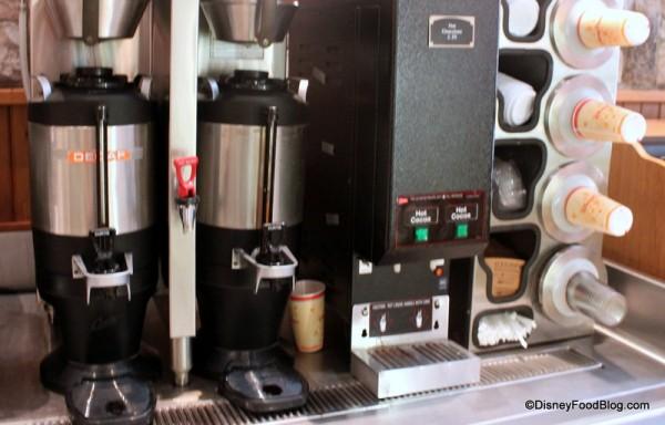 Hot Beverage Station