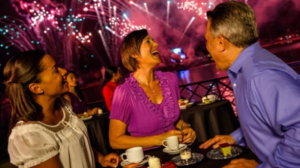 Illuminations Sparkling Dessert Party WDW