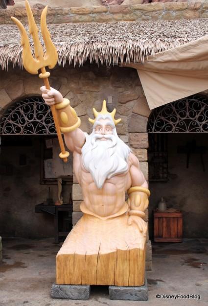 King Triton Statue