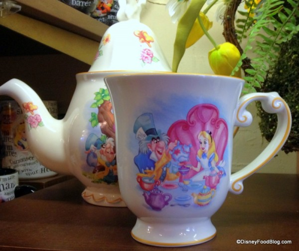 Large Alice in Wonderland Teacup