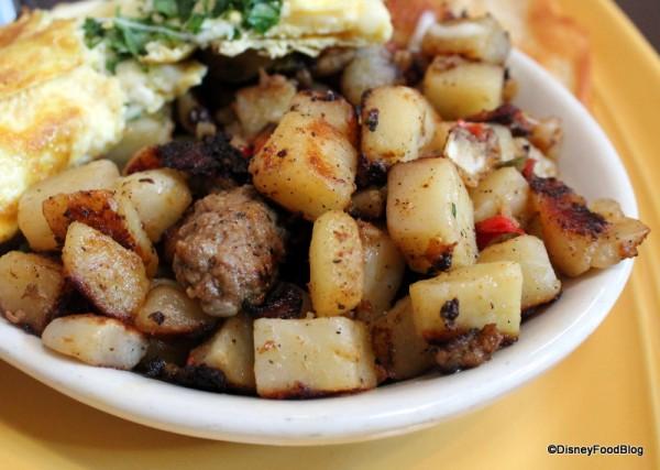 Chorizo potatoes