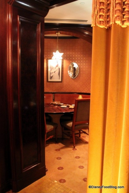 Behind the Curtain of a Private Dining Room