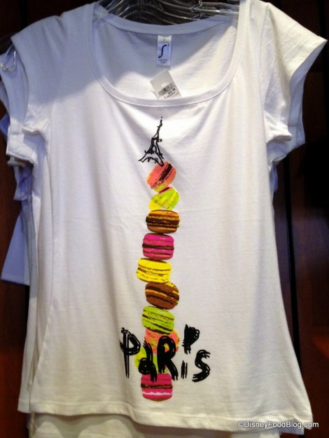 Leaning Tower of Macarons T Shirt