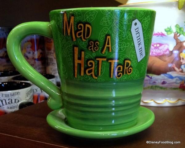 Mad Hatter Mug Reverse