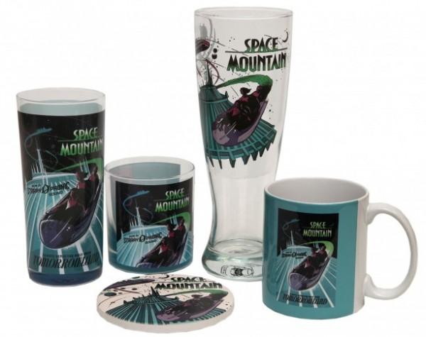 Marketplace Co Op Merchandise Disney Centerpiece Space Mountain (3)