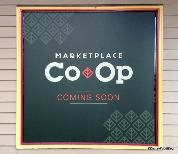 Coming Soon... Marketplace Co-Op