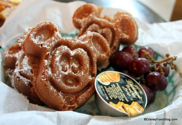 Multi-Grain Mickey Waffles