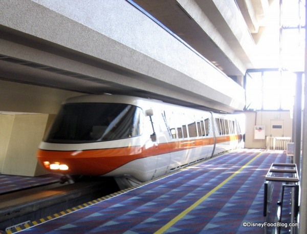 Monorail Orange at Disney's Contemporary Resort