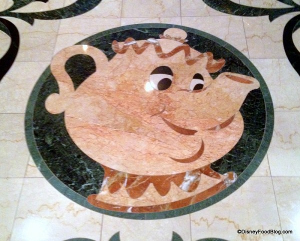 Mrs. Potts Mosaic